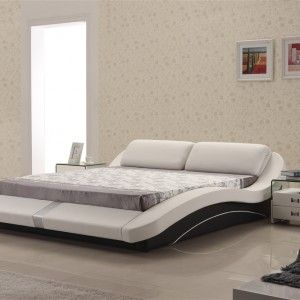 The Gera bed is simply deluxe. From the contemporary styling to the finest details in finishing, the Platform Wave is a leather bed that goes the extra mile. Ultra modern and unique.