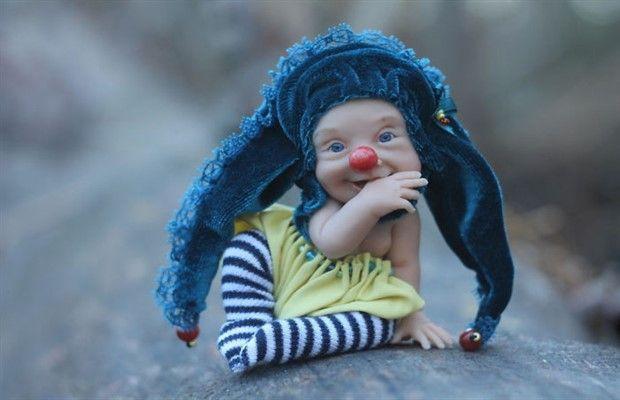 Palyaço Fobisini Solda Sıfır Bırakan Gerçekçi ve Ürkütücü Oyuncak Bebekler