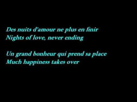 Edith Piaf - La Vie En Rose (Lyrics - French / English Translation)