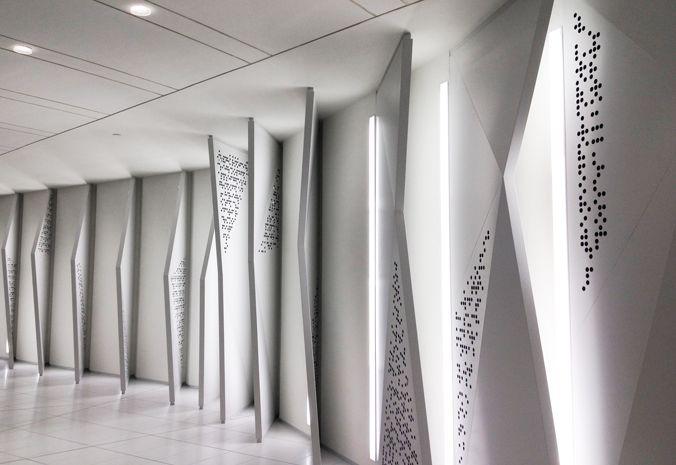 zaha hadid opus office tower dubai interiors designboom | Zaha ...
