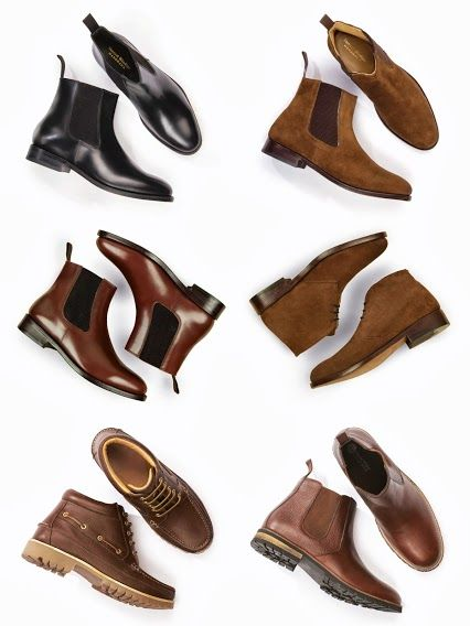 Chelsea boots, dealer boots, Solent boots, desert boots. A sneak peak from the SW #autumn collection