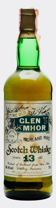 GLEN MHOR 1974 13 Year Old, Highlands