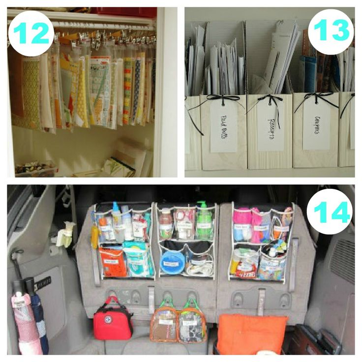 14 AFFORDABLE Organizing Ideas – For The Entire Home