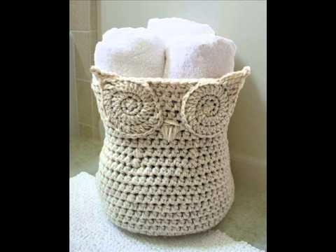 Crochet Owl Basket: Owl Eye Tutorial - YouTube