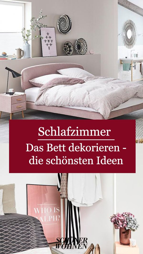 Das Bett Dekorieren Schone Ideen Schlafzimmermobel Ideen Schlafzimmer Gestalten Dekorieren