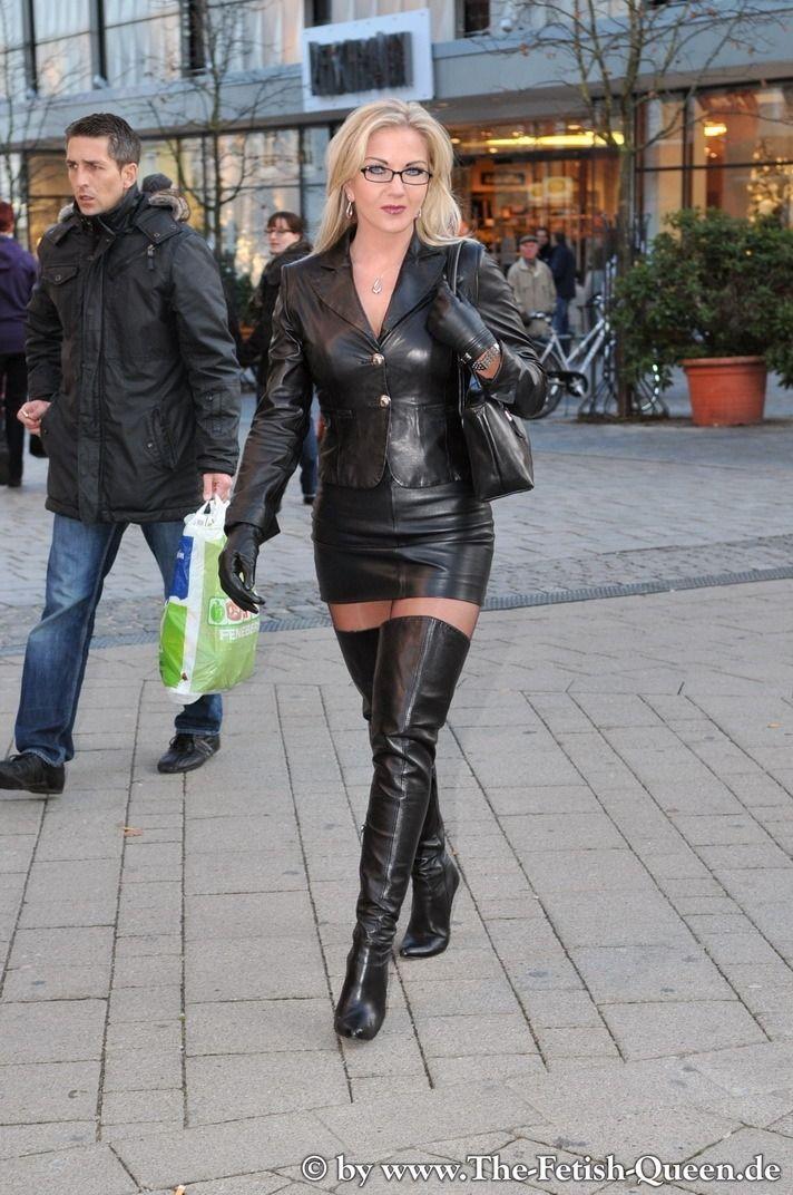 Heike queen leather fasyen: