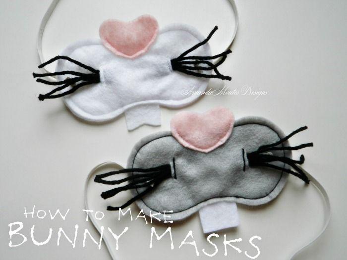 How to Make Bunny Masks by Amanda Moutos Designs