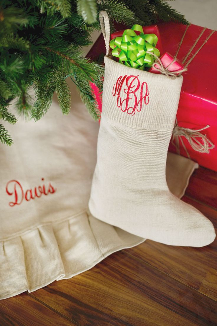 Monogramed Stocking 18