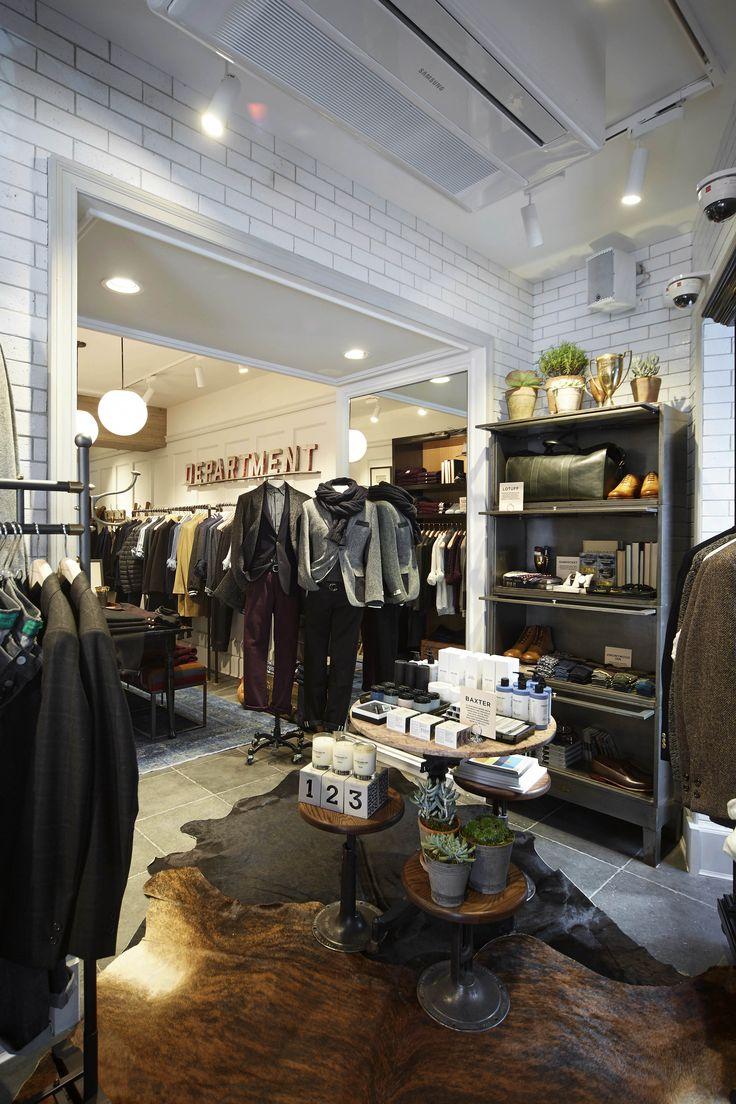 Club Monaco men's only shop in Seoul, South Korea #CMSeoul #CMMensShop