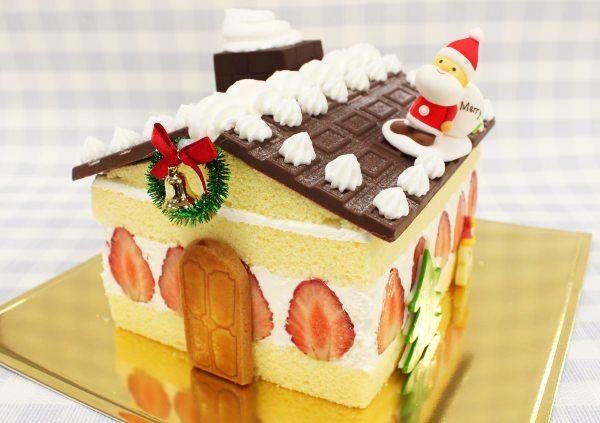 스트로베리 하우스 케이크
