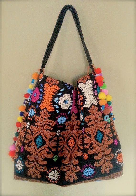 Bali Songket hobo bag