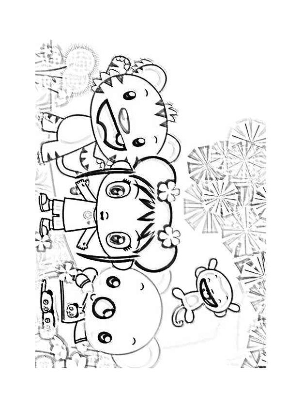 kai lan coloring pages - photo#49