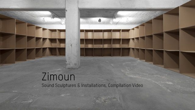 Zimoun : Compilation Video V.2.9 | Sound Sculptures & Installations, Sound Architectures by STUDIO ZIMOUN. Zimoun : Sound Sculptures & Installations, Sound Architectrues