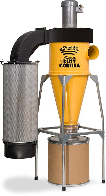 Cyclonic Hepa Dust Collector 8 Quot Dia Inlet With Neutral