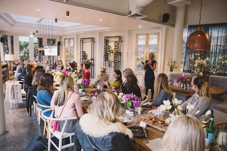 The Age Proof event at the Vine, Sydney. Tracey Spicer was a guest speaker.