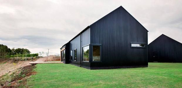 Moderni lato Uudessa Seelannissa @ Asuntomessublogit modern barn