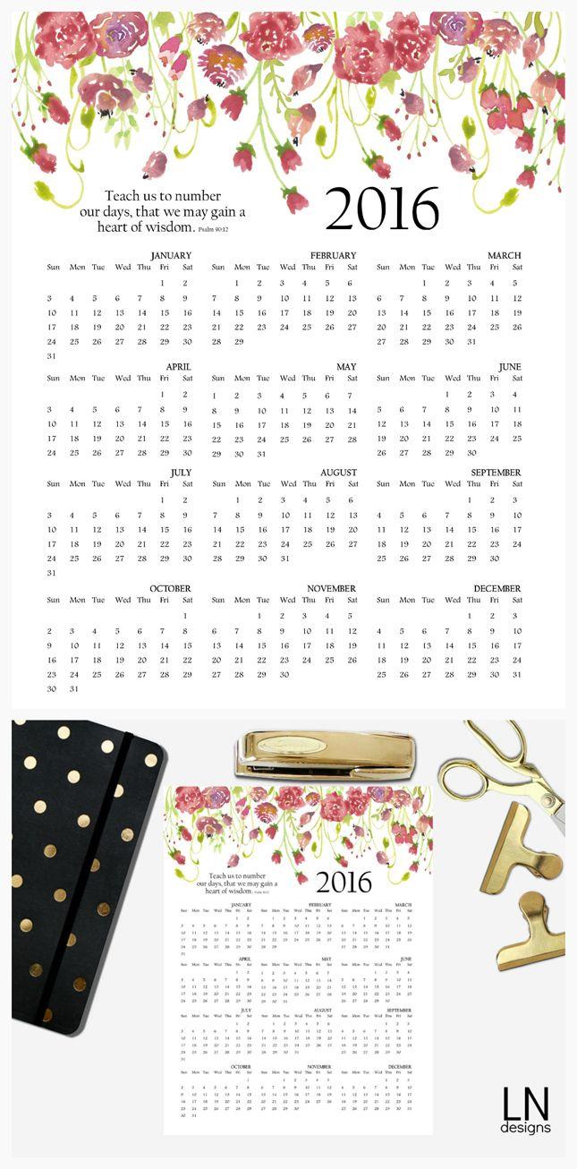 2016-printable-calendar-645.jpg (645×1306)