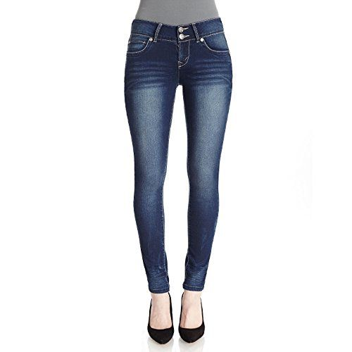 WallFlower Juniors Luscious Curvy Sculpting Skinny Jeans in Mason Size 3 -- Details can be found by clicking on the image.