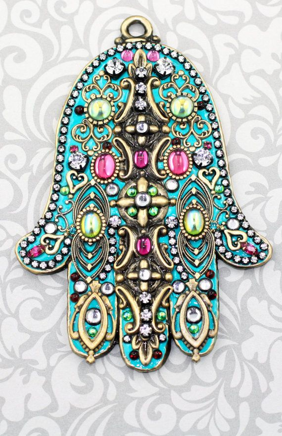 The hamsa is a sign of protection that also represents blessings, power and strength.Tattoo