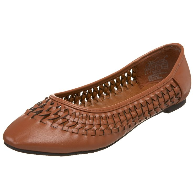 Wanted Shoes Womens Braid FlatTan7 M