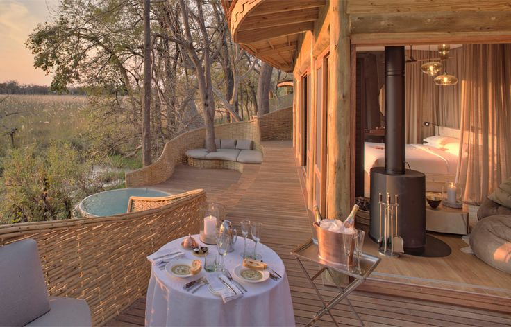 New opening: Botswana's Sandibe Okavango Safari Lodge   Luxury Hotels • TravelPlusStyle.com