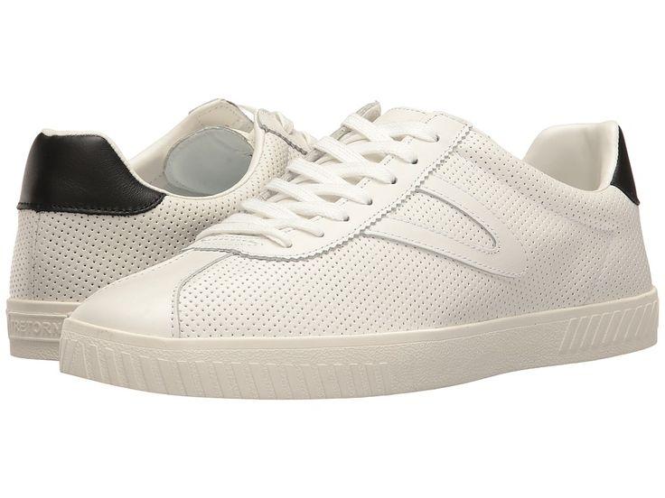 TRETORN TRETORN - CAMDEN 2 (WHITE/WHITE/BLACK) MEN'S LACE UP CASUAL SHOES. #tretorn #shoes #
