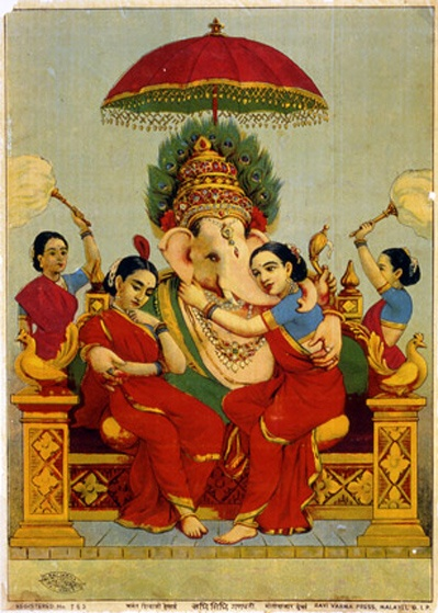 Ganesh, Ravi Varma Press, c. 1900