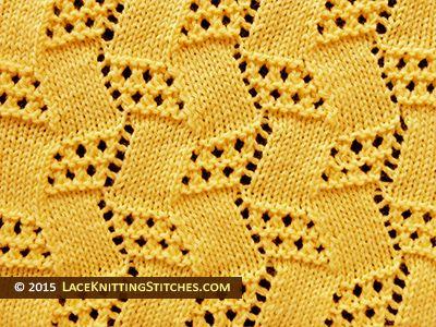 Popular lace knitting pattern - 10 -