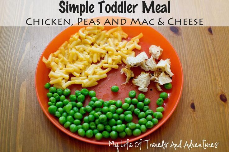 18 Simple & Easy Toddler Meal Ideas!