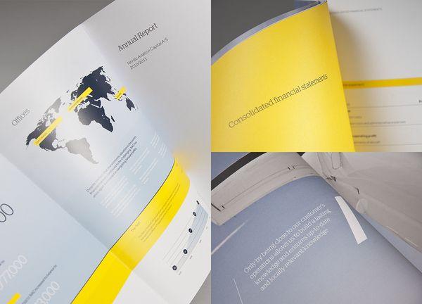 NAC - Corporate Communication by Ineo Designlab® , via Behance
