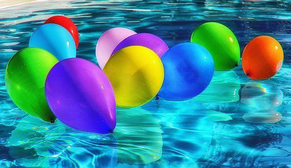 Ilmapallot, Värikäs, Ballons, Väri