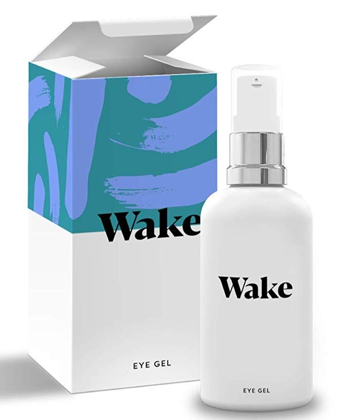 Wake Skincare Eye Gel Hydrating Eye Serum For Puffy Eyes Dark
