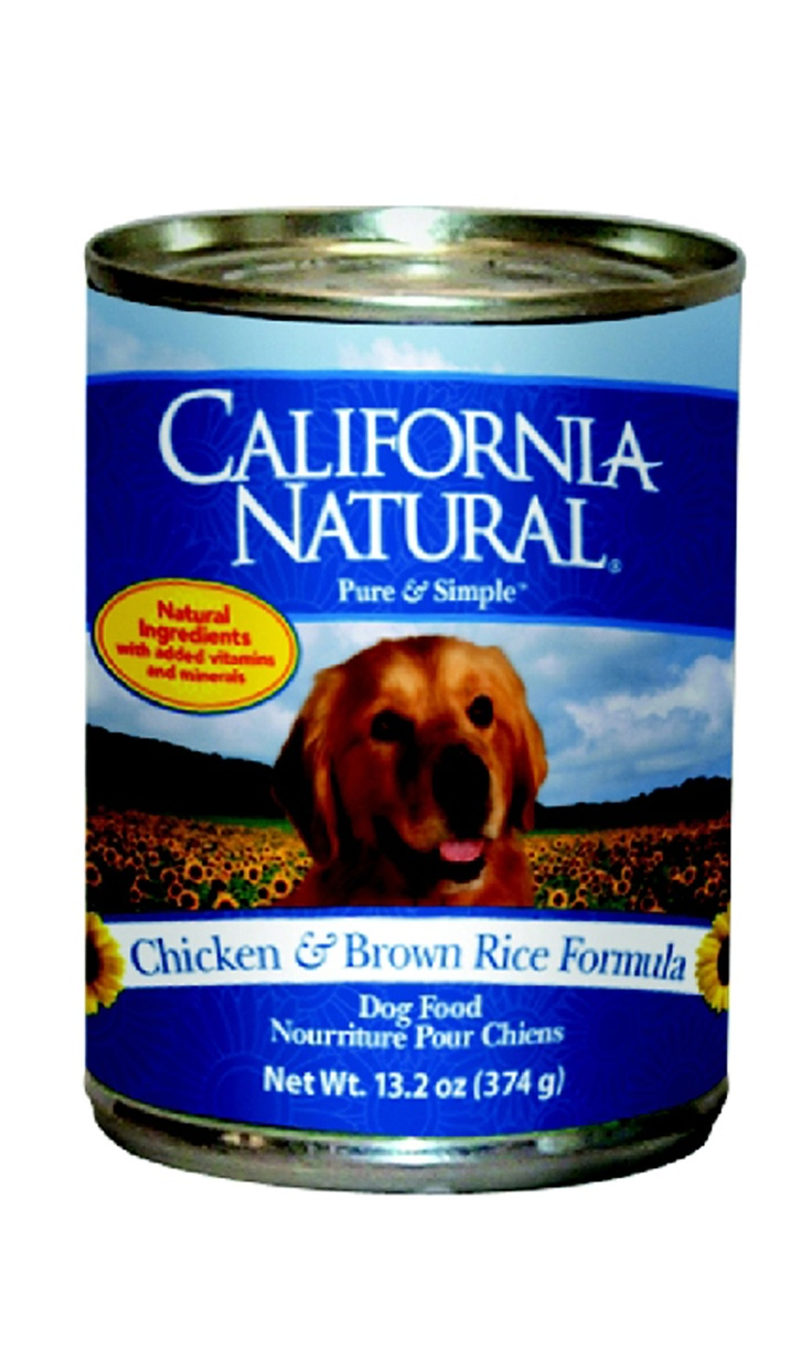 California Natural Chicken Brown Rice Canned Cat Food