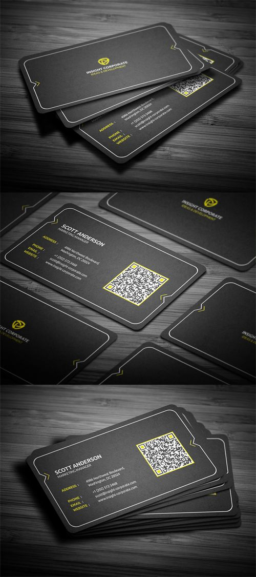 104 best Name Card \ business card design images on Pinterest - name card example