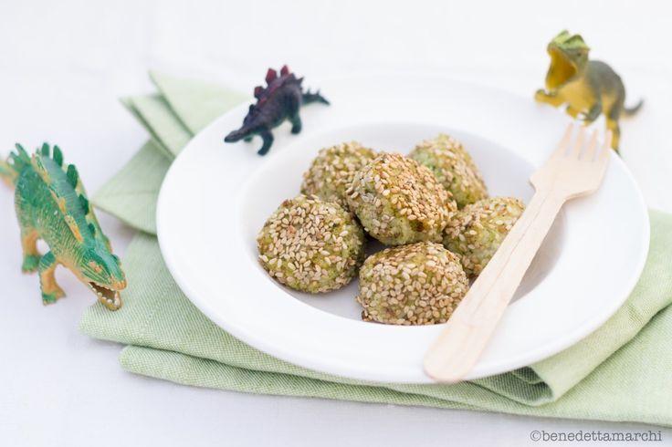 Polpette Miglio e Broccoli - CresciBio