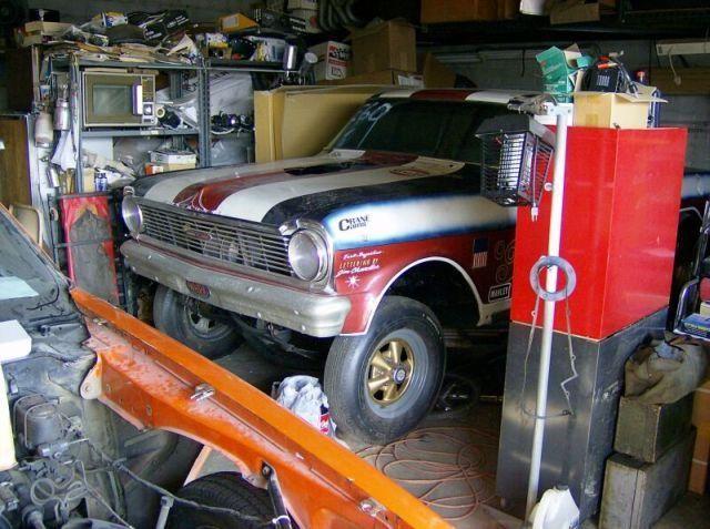 Barn Find Race Cars