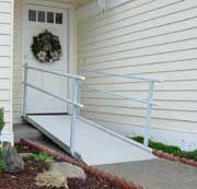 Pathway Wheelchair Ramps with Handrails