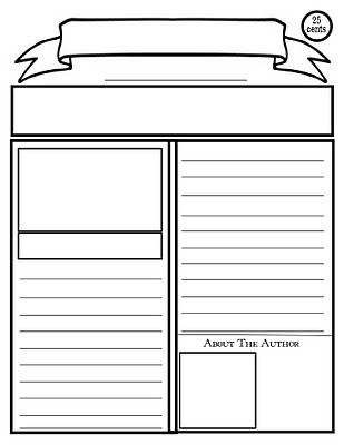 Free Printable Newspaper Article Template was just making my own and now I don't have too!