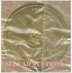 2002 Salt Lake Olympics Team Canada Hockey Coca-Cola Coin Mario Lemieux New on eBid Canada