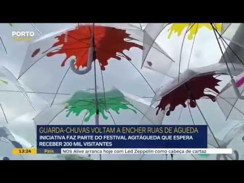 AgitÁgueda report on Porto Canal @Agitágueda2016  #agitagueda #agitagueda2016 #agitaguedaartfestival #agueda #streetart #festival #urbanart #umbrellaskyproject