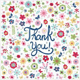 WS503 Thank You Little Flowers www.gailscards.com.au
