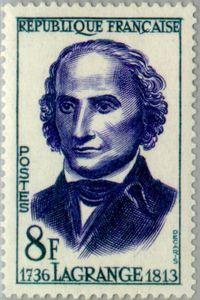 Lagrange Joseph-Louis (1736-1813)