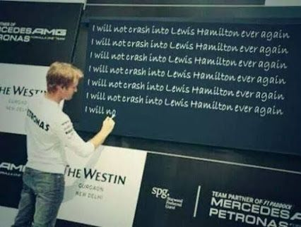 Nico practices his lessons learned at Spa for this weeks Italian Grand Prix at Monza!