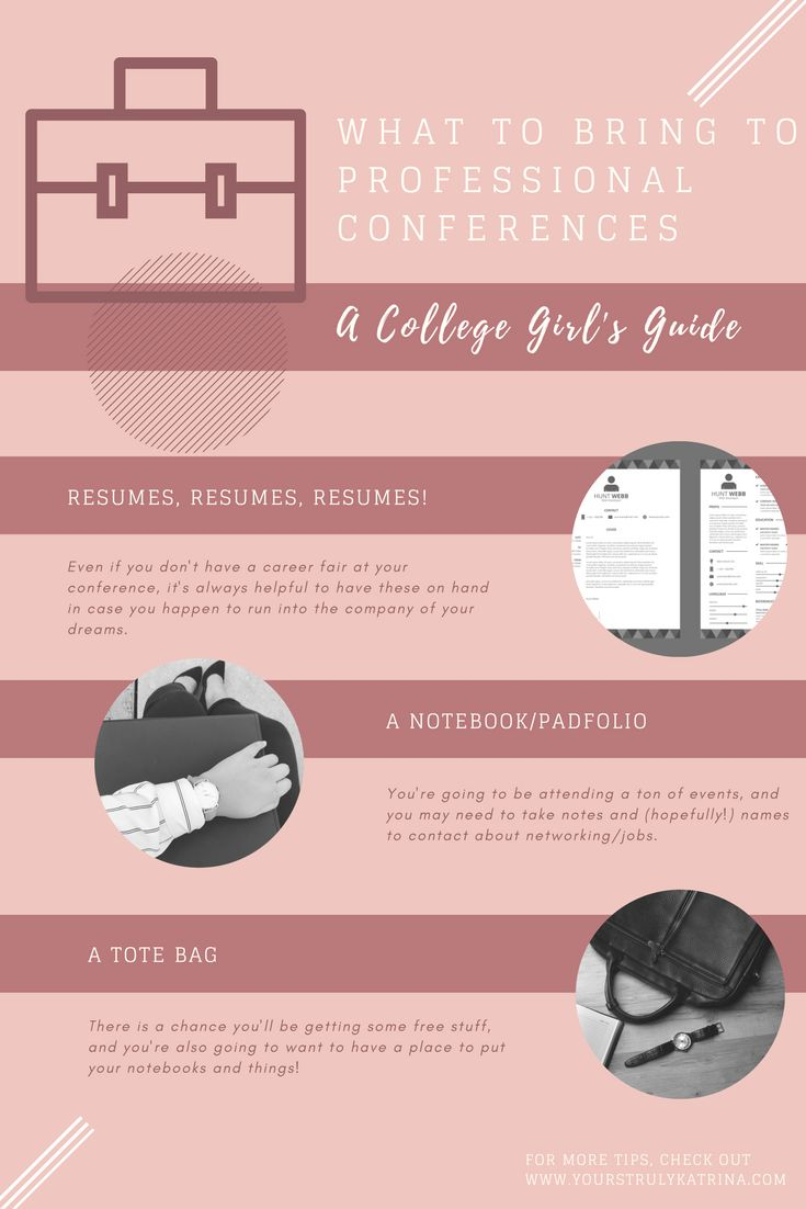 A College Girl's Guide to Professional Conferences - Yours Truly, Katrina