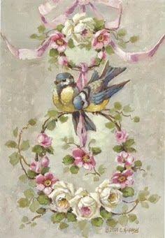 Rose birds
