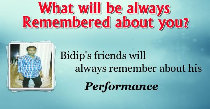 Check my results of Why you are to be Remembered? Facebook Fun App by clicking Visit Site button