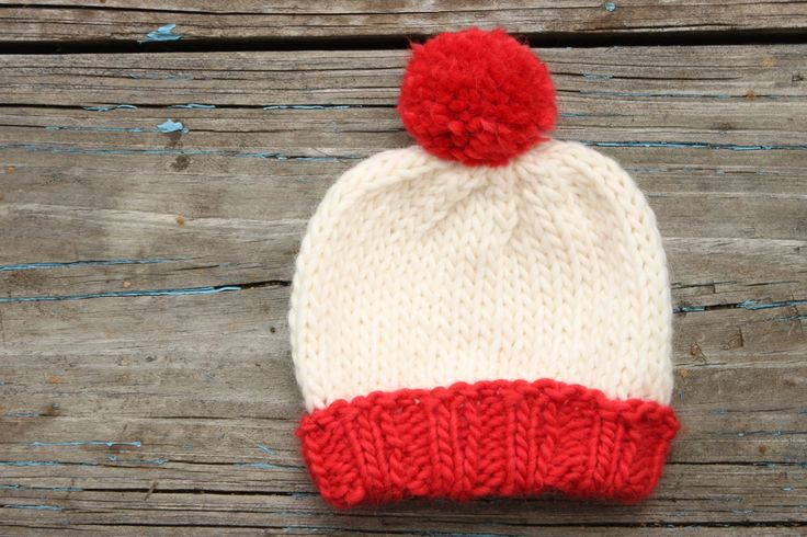 "Baby ""Where's Waldo?"" hat red and white by TaBknits on Etsy https://www.etsy.com/listing/237314133/baby-wheres-waldo-hat-red-and-white"