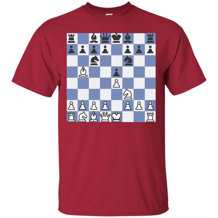 Chess Ruy Lopez - Berlin Defense Cotton T-Shirt
