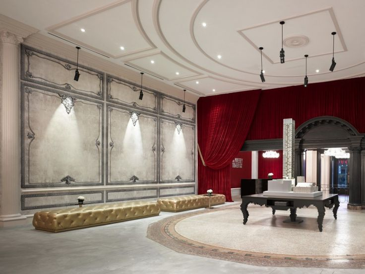 Amazing Luxury Condominium Designs with Classic Touch: Spacious Space With High Class Rug In Appealing Tower Sales Centre