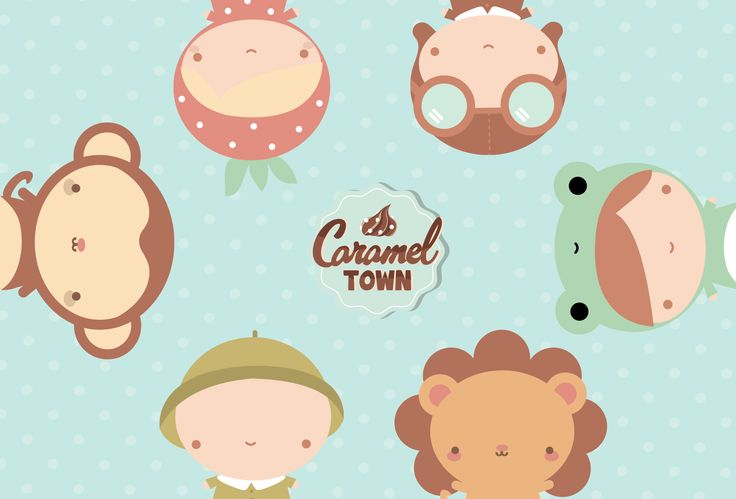 Caramel Town   Main Characters